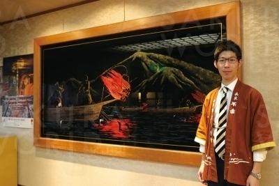 石金の若旦那、永瀬洋平さん。さまざまなアイデアで、楽しい旅行の提案をしている。