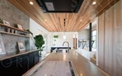 1F キッチン・リビングスペース