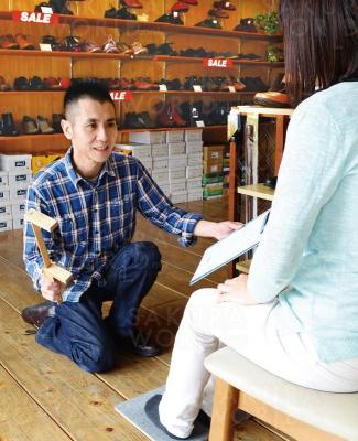 靴と足のプロ 小川店長