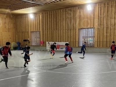 フットサルの技術をサッカーで!