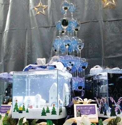 クリスマス特別水槽「トト・クリスマスパーティ」