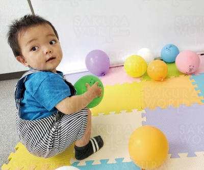 MODEL/ 教室にお通いのMくん(1歳)