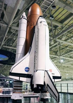 スペースシャトル(1/25模型)