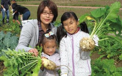 野菜収穫・料理づくり体験教室 ~親子ふれあい食農体験 楽し く育て、美味しく食べよう~