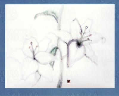 自然美を筆先に込めて「芙峰画(日本画)展」
