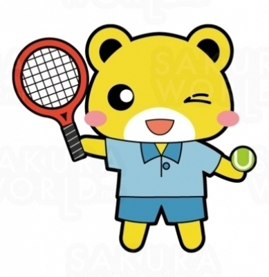 テニスラウンジイメージキャラクター パコちゃん