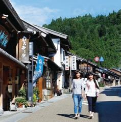 ドラマで話題の恵那市岩村町で「おとく」に散策