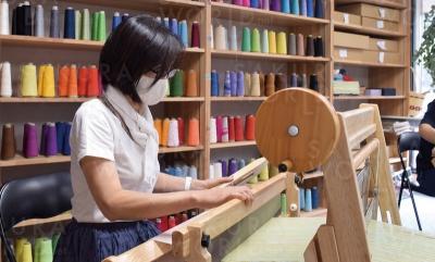 さをり織り工房「うけ月」