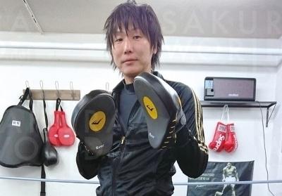 【元ウェルター級プロボクサー】田岡さん。