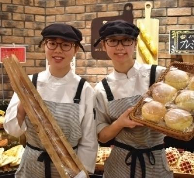 毎日私たちが一から手作りしています!おいしいパンが盛り沢山♪ 是非食べてみてください!