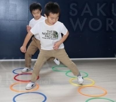 クライミング以外にもお子様の運動能力向上メニューをご用意!