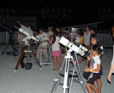 星見会「月や火星、M81銀河など季節の天体の観察」